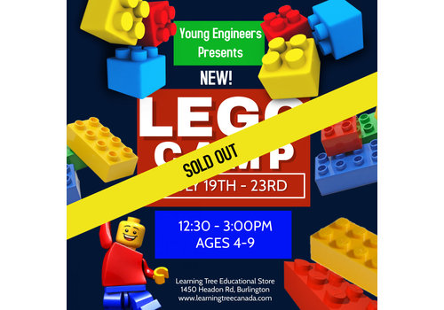 NEW! Young Engineer LEGO Bricks! Summer Camp PM - July 19-23*