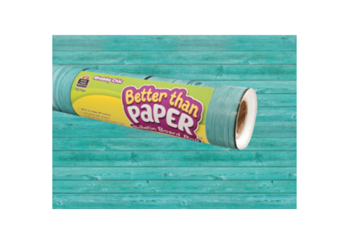 Teacher Created Resources Better than Paper - Shabby Chic Wood Bulletin Board Roll *