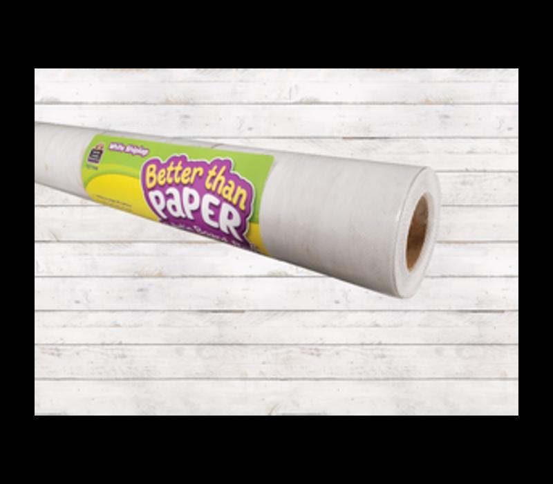 Better than Paper - White Shiplap Bulletin Board Roll *