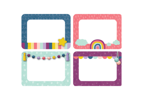 Teacher Created Resources Oh Happy Day Name Tags/Labels - Multi-Pack*