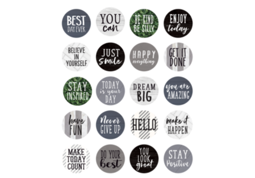 Teacher Created Resources Modern Farmhouse Words to Inspire Planner Stickers *