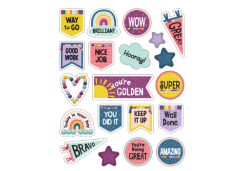 Teacher Created Resources Oh Happy Day Stickers *