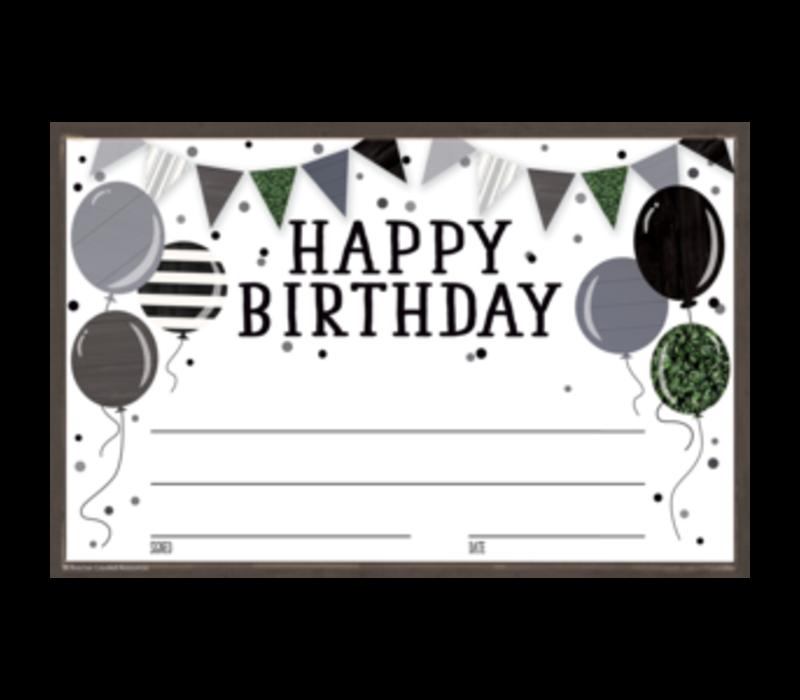 Modern Farmhouse Happy Birthday*