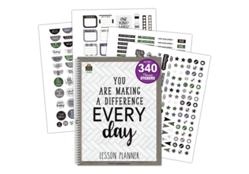 Teacher Created Resources You are Making a Difference Every Day - Lesson Planner*