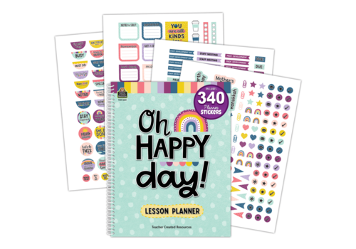 Teacher Created Resources Oh Happy Day Lesson Planner*