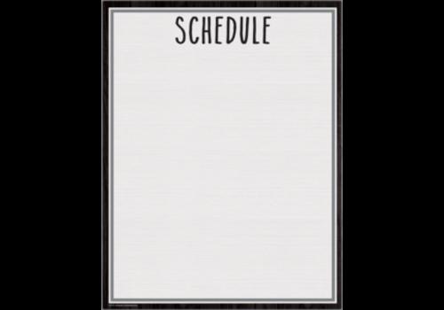 Teacher Created Resources Modern Farmhouse Schedule Chart