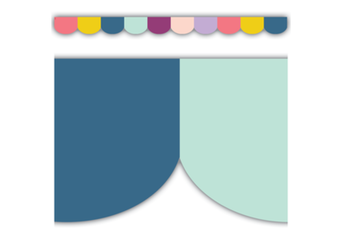 Teacher Created Resources Oh Happy Day Scalloped Border *