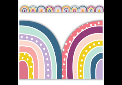 Teacher Created Resources Oh Happy Day Rainbows Border *