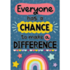 Teacher Created Resources Everyone Has a Chance To Make a Difference Positive Poster*
