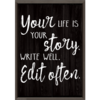 Teacher Created Resources Your Life is Your Story  Positive Poster*