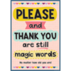 Teacher Created Resources Please and Thank You Positive Poster*