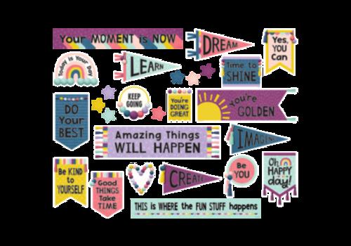 Teacher Created Resources Oh Happy Day Positive  Mini Bulletin Board Set *