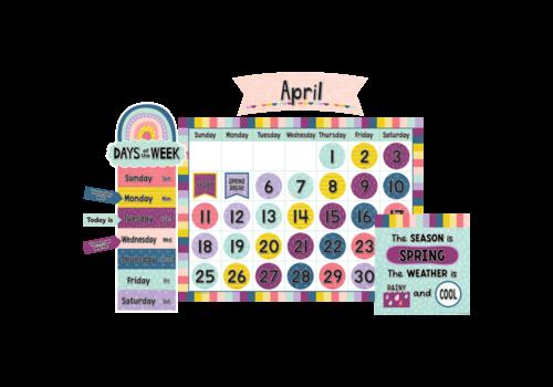 Teacher Created Resources Oh Happy Day Calendar Bulletin Board *