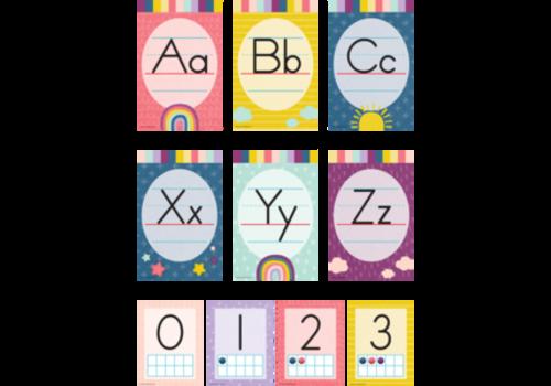 Teacher Created Resources Oh Happy Day Alphabet Bulletin Board *