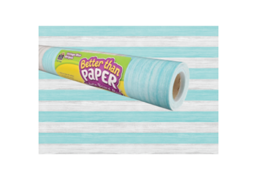 Teacher Created Resources Better than Paper -Vintage Blue Stripes *