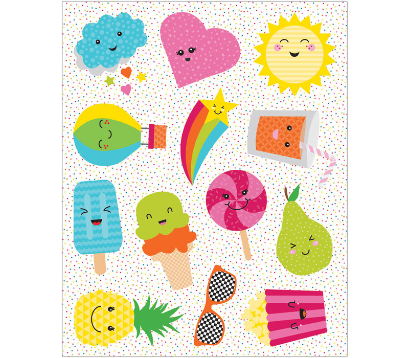 School Pop Shape Stickers*