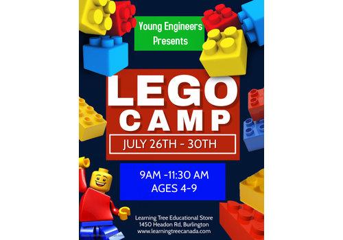 Young Engineer LEGO Bricks! Summer Camp - July 26-30 AM *