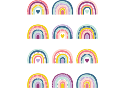 Teacher Created Resources Oh Happy Day Rainbows - Mini Accents*