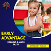 Early Advantage - Reading & Math Saturdays, 9-9:45am FALL  2021 *