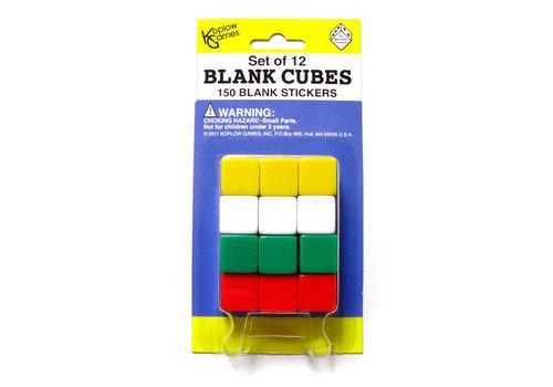 Koplow Blank Cubes - Set of 12*