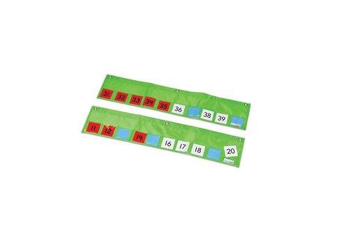 Hand2Mind Number Path Pocket Chart