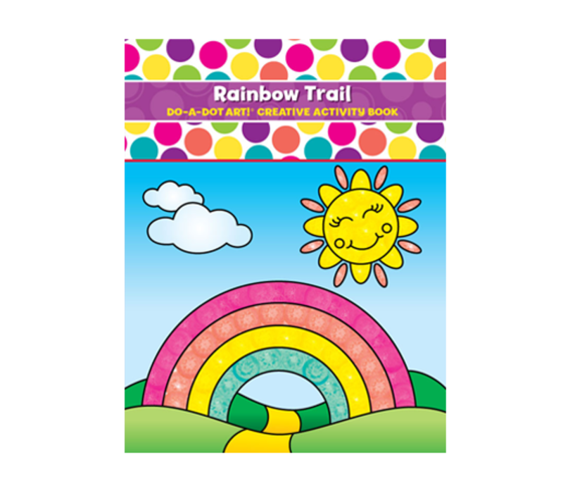 Do-A-Dot Rainbow Trail  Activity Book *
