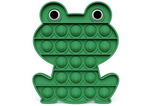 Munching Monster Green Frog Bubble Pop Fidget Board*