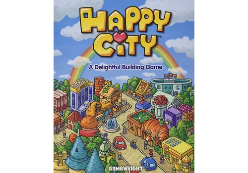 Gamewright Happy City - A Delightful Building Game *