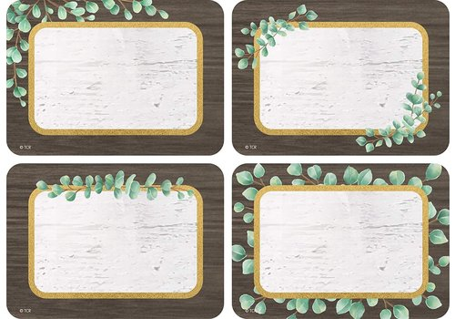 Teacher Created Resources Eucalyptus Tags/Labels - Multi-Pack*