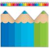 Teacher Created Resources Colored Pencils Die-Cut Border Trim *