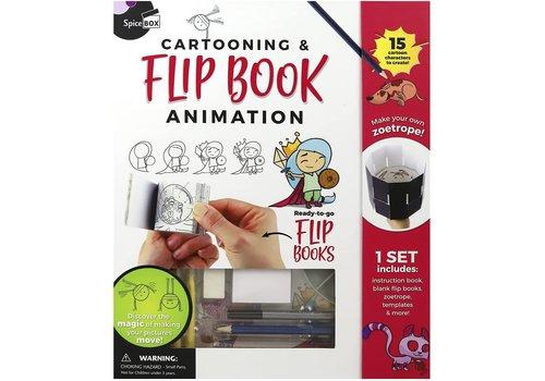 Spicebox Cartooning & Flip Book Animation *