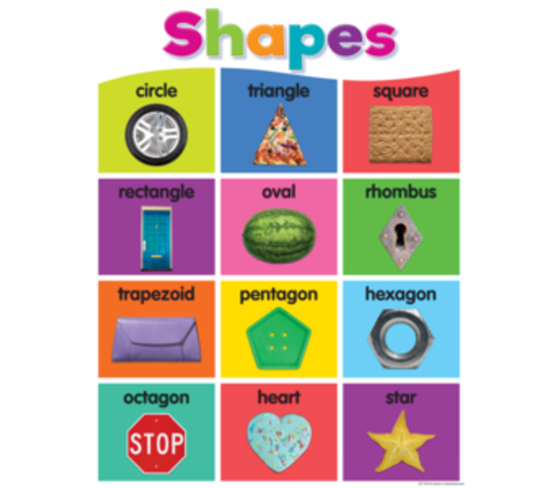 Colorful Shapes Chart *
