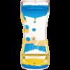 Teacher Created Resources Blue & Yellow Liquid Motion Bubbler *