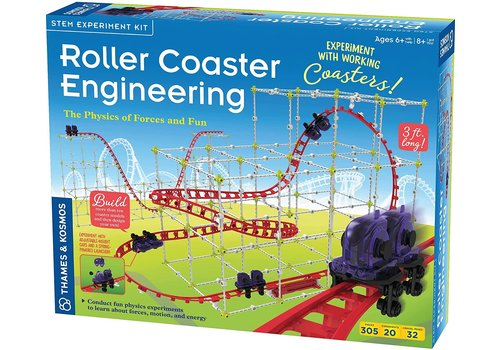 Thames & Kosmos Roller Coaster Engineering  - The Physics of Forces and Fun*