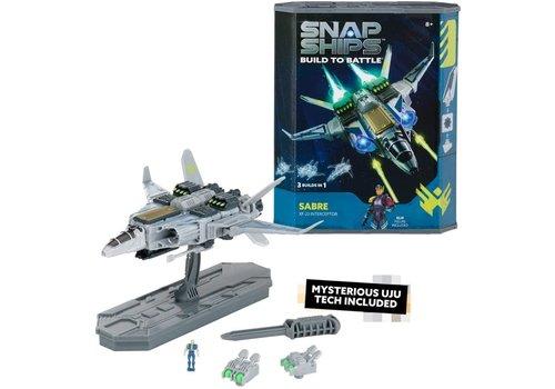Playmonster Snap Ships Build to Battle - Sabre XF-23 Interceptor*