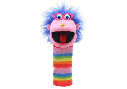 Gloria Knitted Hand Puppet *