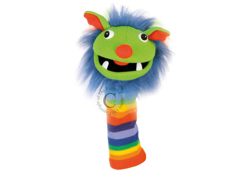 Rainbow Knitted Hand Puppet *