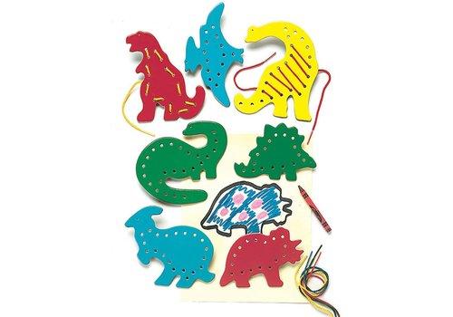 Lauri LACING & TRACING - Dinosaurs