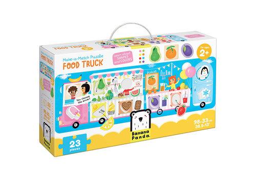 Banana Panda Make-a-Match Food Truck  Puzzle*