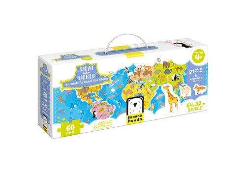Banana Panda What in the World - Animals Around the Globe Puzzle*
