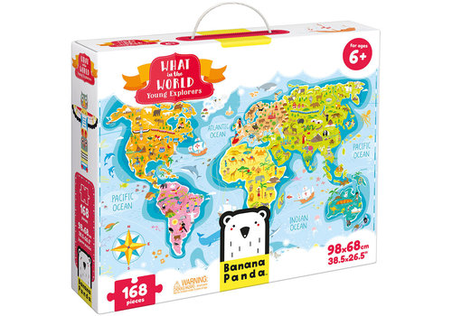 Banana Panda What in the World -Young Explorers  Puzzle*
