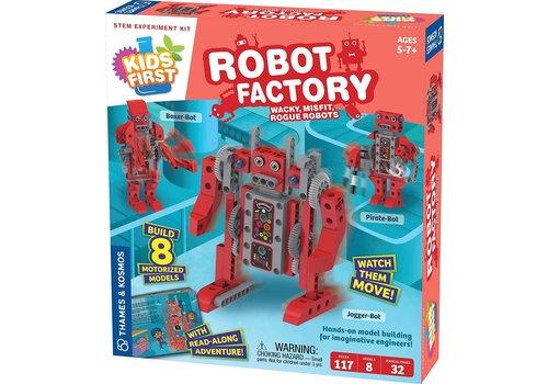 Thames & Kosmos Robot Factory STEM Experiment Kit*