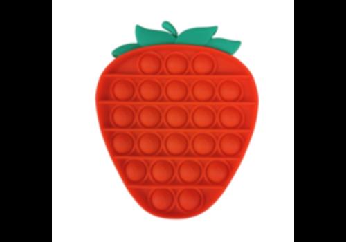 Munching Monster Strawberry Bubble Popper