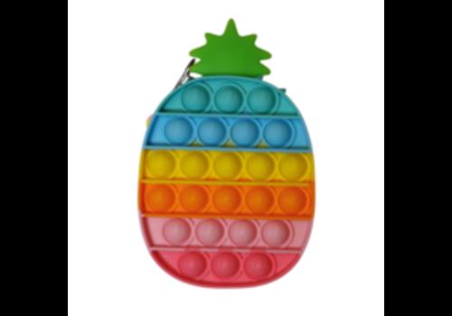 Munching Monster Rainbow Pineapple Bubble Popper *