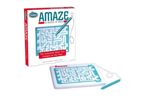 THINK FUN Amaze - 16 Mazes in One