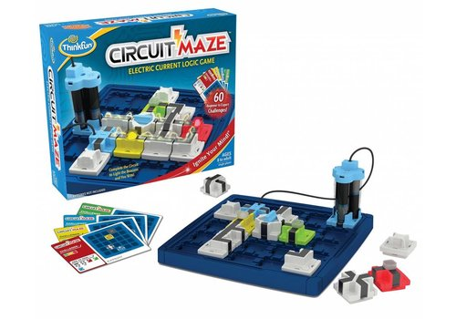 THINK FUN Circuit Maze - Electric Current Logic Game
