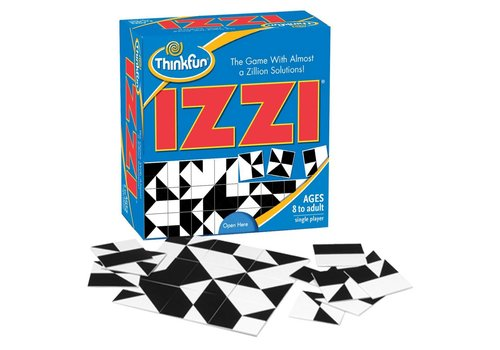 THINK FUN IZZI - The Matching Puzzle with a Zillion Solutions