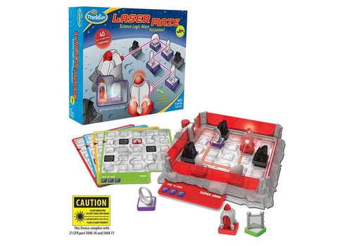 THINK FUN Laser Maze Jr. - Science Logic Maze for Juniors!