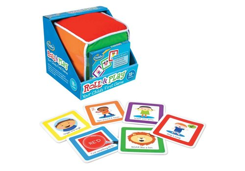 THINK FUN Roll & Play - Your Child's First Game