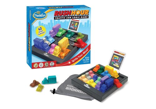 THINK FUN Rush Hour - Traffic Jam Logic Game